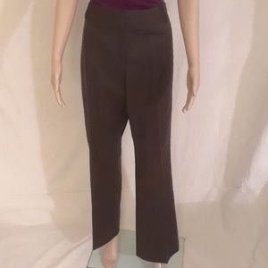 Ann Taylor LOFT Brown Slacks - Size 10